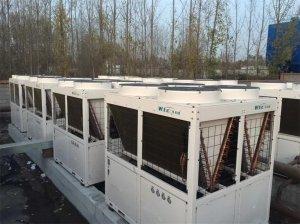山东淄博30万平米空气源热泵分布式供暖项目