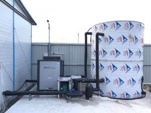 张马屯工地热水系统